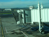 pdx airport jetway, portland, oregon