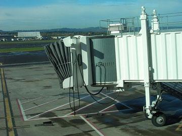 pdx airport jetway, portland, oregon